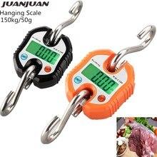 Scale-Hook Balance Fishing-Steelyard Weighting Digital Electronic Luggage 150kg/50g 40%Off