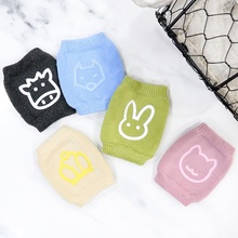 1 Pair baby knee pad kids safety crawling elbow cushion infant toddlers baby leg warmer kneecap support protector baby drop ship 1 pair newborn infant baby boy girl safety crawling elbow cushion toddlers knee pads protector