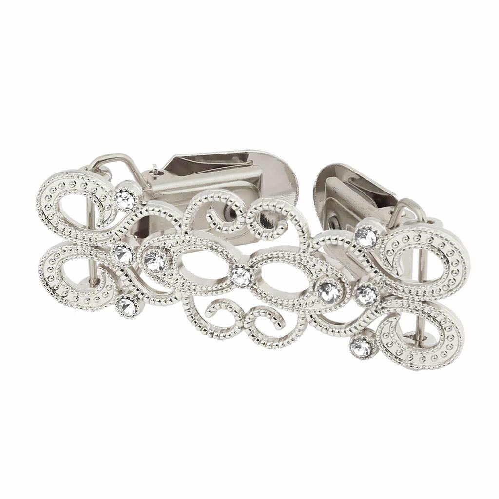 1/3PCs เสื้อ Retro ดอกไม้คลิป Clasps ผู้หญิงเสื้อสเวตเตอร์ถักเสื้อผ้าคลุมไหล่คลิป Charm เข็มกลัดอุปกรณ์เสริมเสื้อ pin YH