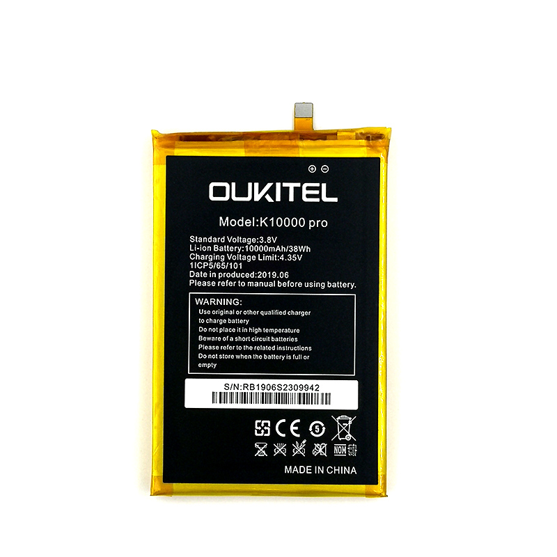 100% Original 10000mAh K10000 Pro Battery For Oukitel K10000 Pro Phone Latest Production High Quality Battery+Tracking Number