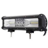 12 Inch 840W Flood Led Work Light Bar Combo Driving Lamps Waterproof 68Led Work Light 6000K for Suv Atv Offroad Vehicle