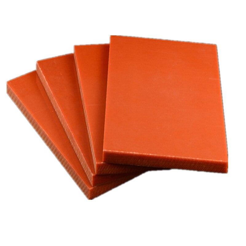 T3/4/5/6/8/10/15/20/30/40MM*100*150MM Bakelite Sheet Bakelite Plate Board Electrostatic Prevention Insulated Panels Customized