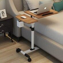 2020 nova chegada dobrável mesa do computador portátil girar mesa do portátil para a cama pode ser levantado mesa de pé móveis para casa
