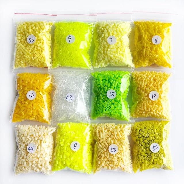 DOLLRYGA 2.6mm 12000pcs 12 colors Perler Beads Iron Beads for kid Aqua Hama Beads Fuse Beads Diy Puzzles Mini Beads quality Gift