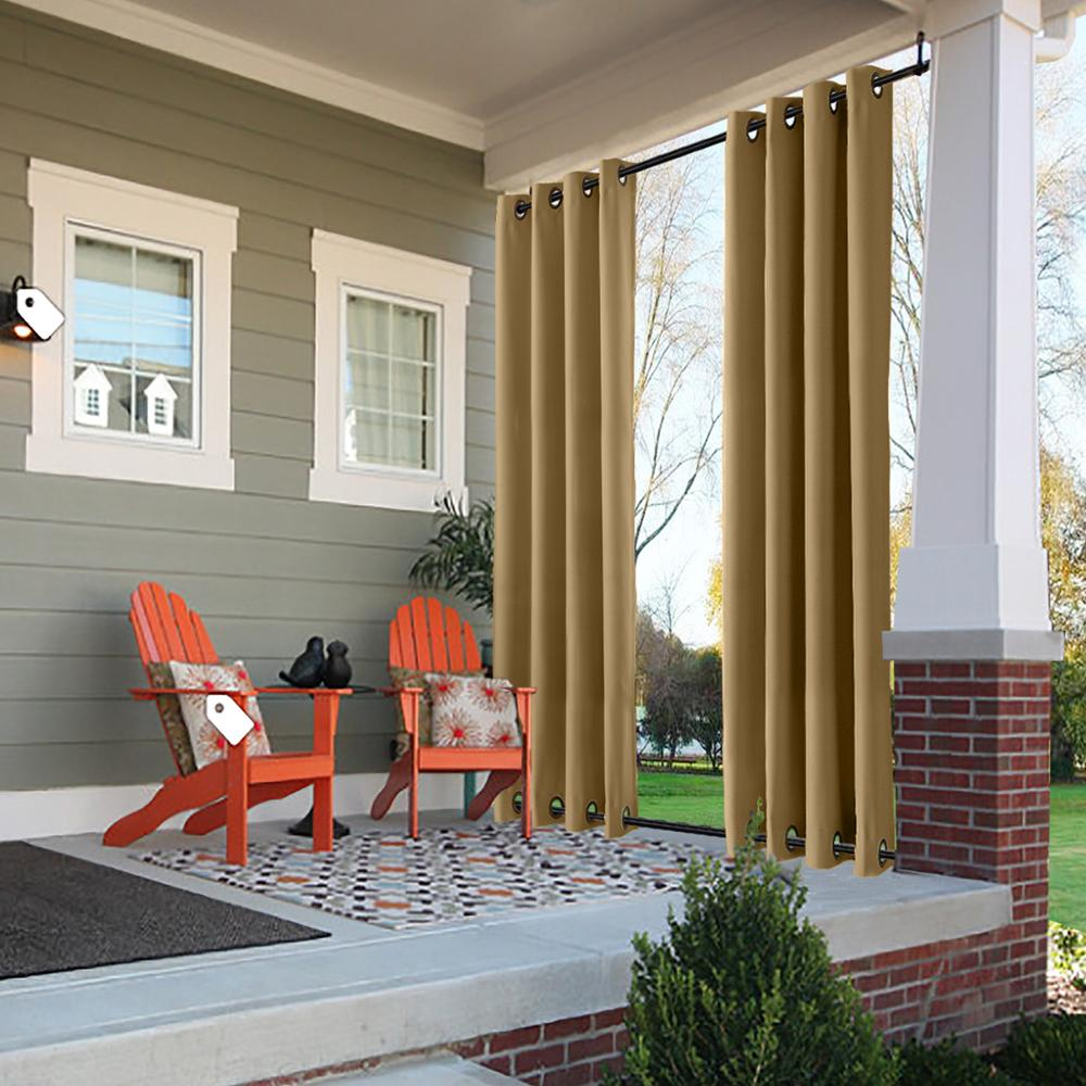 check MRP of waterproof outdoor curtains