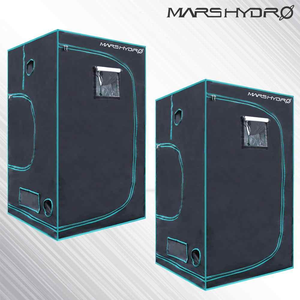 2PCS 1680D Marshydro Indoor Hydrokultur wachsen zelt 100*100*180 cm, Wachsen kit, vollständig LED Innen Wachsen System