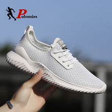 Summer Men Sneakers Casual Shoes Breathable Light Mesh High Quality Sport Running For Walking