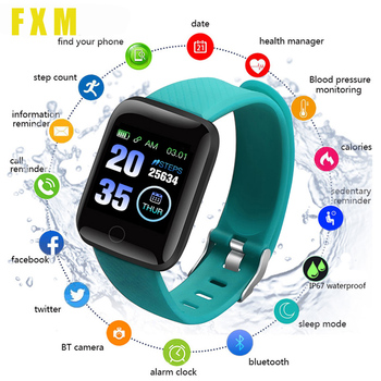 Bluetooth Sport Pedometer Children Smart Watch Sleep Monitor Waterproof Smartwatch Kids Boy Gift Watches D13 Android Smart wear