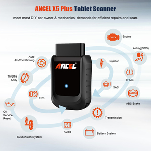 Image 2 - Ancel X5 Full system OBD2 Scanner Car Diagnostic Tool Wifi/Bluetooth Read Airbag ABS TPMS OBD2 Auto Scanner EPB IMMO SRS Reset