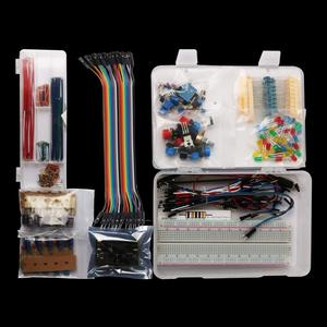 Image 3 - Keywish Electronics Component Super kit with Jumper wires,Color Led,Resistors,Register Card,Buzzer for Arduino