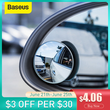 Зеркало заднего вида Baseus, 2 шт., 360 градусов, широкий угол обзора