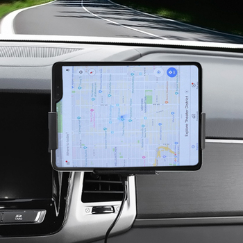 Car Wireless Charger 10W Auto Clamping Phone Mount Holder for XiaoMi Samsung Galaxy Fold Z Fold 2 iPhone 11 XS Max Huawei Mate X 1