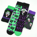 Anime Dos Desenhos Animados The Joker Jack Napie Meias Coloridas Meias de Moda Casal Longo Vestido Ocasional skate Meias Cosplay Presente