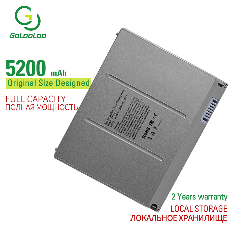 Gol Laptop Battery For Apple MacBook Pro 15