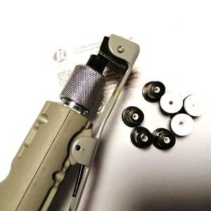 Image 3 - JL pistola de chorro de arena de aire con 8 piezas, boquillas de chorro de arena para tanques de chorro portátiles de 5 galones
