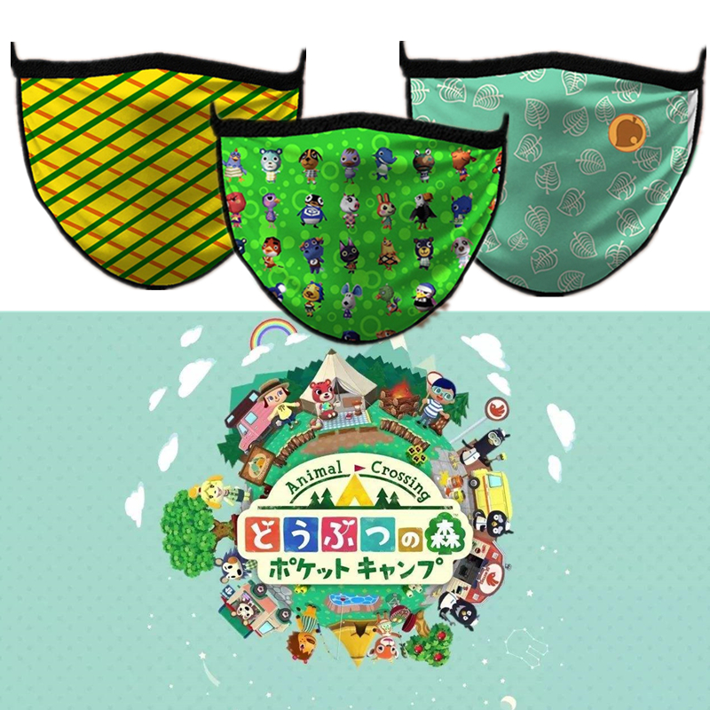 Game Animal Crossing Cosplay Mouth-muffle Anti-Dust Winter Face Mask