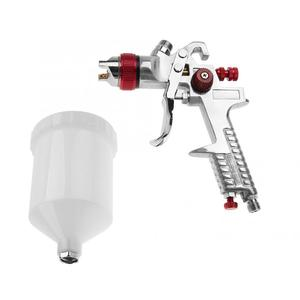 Image 4 - Набор пневматических пульверизаторов гравитационного типа, форсунка 1,4 мм, 600 мл, электроинструменты для живописи, профессиональная покраска мебели для автомобиля