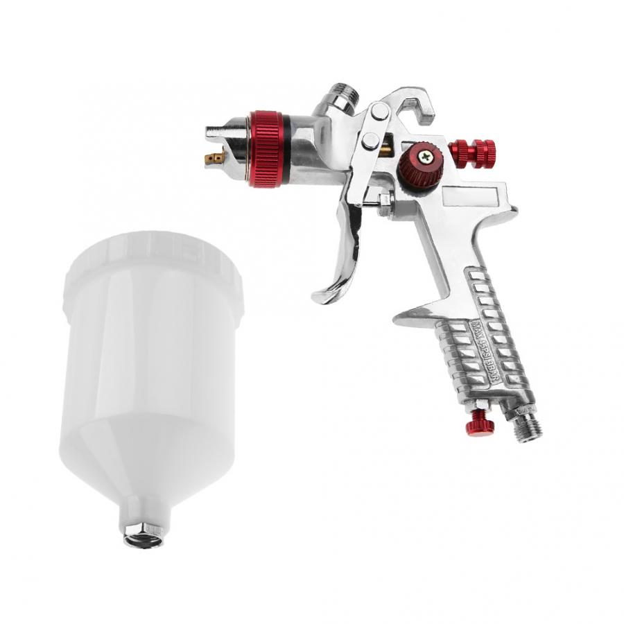 Image 4 - H 827W 1.4mm Nozzle 600ml Gravity Type Pneumatic Spray Gun Kit Power Tools Painting Professional for Painting Car Furniture-in Spray Guns from Tools on