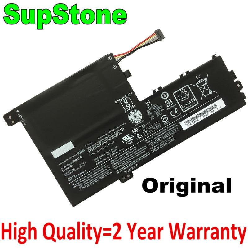 SupStone Genuine Original L15M3PB0 Laptop Battery For Lenovo Yoga 510-14isk,IdeaPad 320S-14IKB,Flex 4 1470 1570 1480 L15L3PB0