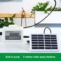 Автоматический водный насос Система Орошения солнечной энергии интеллектуальное устройство полива таймер садовый капельница в горшке