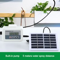 Automatic Water Pump Intelligent with Solar Energy Watering Device Timer System Garden Dripper Potted drip Irrigation Sprinkling
