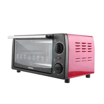 KONKA 12L piekarnik elektryczny sprzęt agd 1050W minipiekarnik dwuwarstwowy pieczenie chleba mały piekarnik Pizza ciasto ekspres do kuchni tanie i dobre opinie HAIMAITONG 10l 801-1200 w 220 v CN (pochodzenie) Elektryczne Piec konwekcyjny turbo piekarnik Pojedyncze Poziome iron