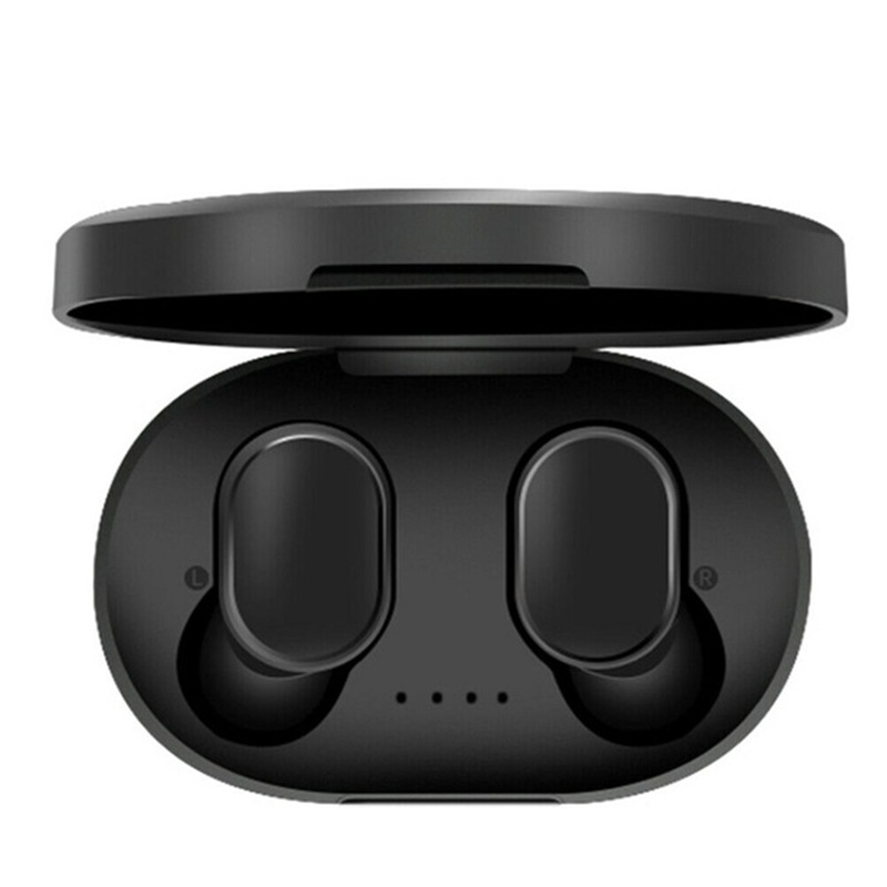 <font><b>A6S</b></font> bluetooth earphone,Headsets For Redmi Air Dots <font><b>Wireless</b></font> Earbuds 5.0 <font><b>TWS</b></font> Earphone Noise Cancelling Mic headphones for Xiaomi image