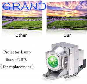 Image 2 - Módulo de alta calidad 5j. J9e05.001 para BENQ W1400 W1500, proyector de repuesto, bombilla con carcasa