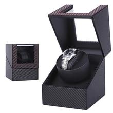 Watch Winders Winding-Box Mechanical Shaker Automatic for Motor Display Jewelry Storage-Organizer
