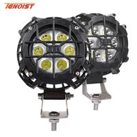 2PCS 4 Inch LED Work Light For Wrangler Jimny Offroad SUV Motorcycle ATV UTV 12V 24V