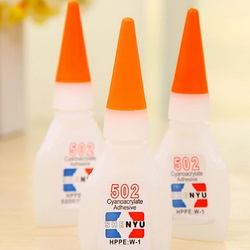 1/2/3/4/5pcs High Quality 502 Super Glue Multi-Function Glue Genuine Cyanoacrylate Adhesive Strong Bond Fast For Office Tools