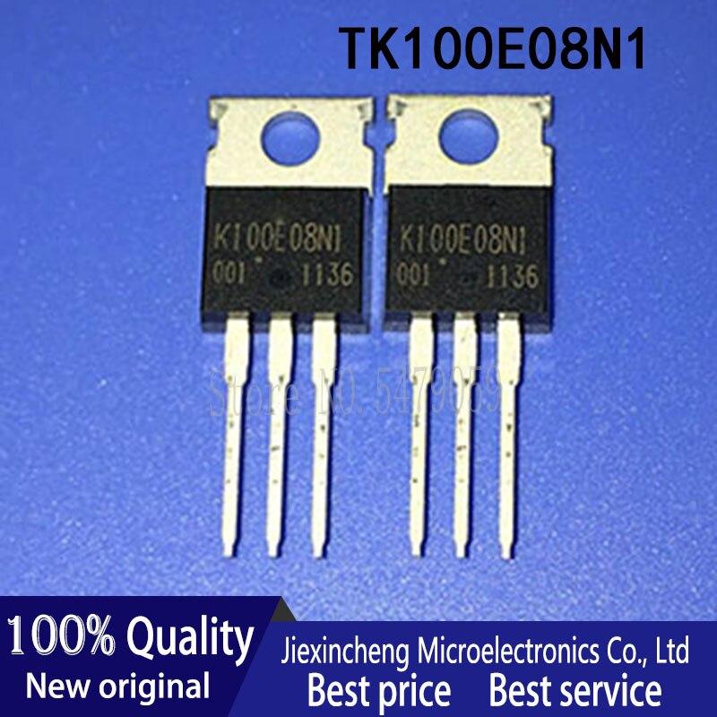 10PCS TK100E08N1 K100E08N1 TK100E10N1 K100E10N1 STPS30H100CT STPS20S100CT TIP127 TIP112 TO-220 New original