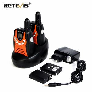 Retevis RT602 Rechargeable Walkie Talkie Kids 2pcs Children's radio 0.5W PMR PMR446 With Battery Christmas Gift Talkie-walkie