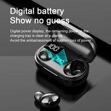 TAOCHIPLE T8 Tws 이어폰 무선 헤드폰 무선 블루투스 헤드셋 게이머 헤드폰 (마이크 포함) 모든 폰용 스포츠