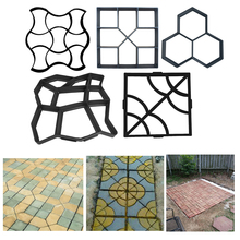 1 adet bahçe parke kalıp DIY elle kaldırım çimento tuğla taş yol yolu beton kalıpları yolu Maker kaldırım kalıpları kalıp