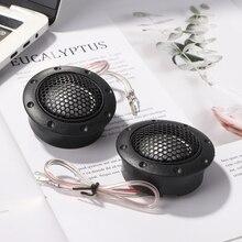 2Pcs 150W Car Audio Speaker YH-380A Car Silk Tweeter Treble Loudspeaker Universal Mini Dome Car Tweeter Speakers
