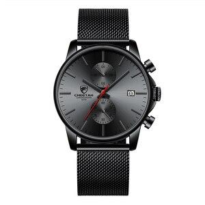 Image 5 - Mens Watches Top Luxury Brand Men Fashion Business Watch Casual Analog Quartz Wristwatch Male Waterproof Clock Relogio Masculino
