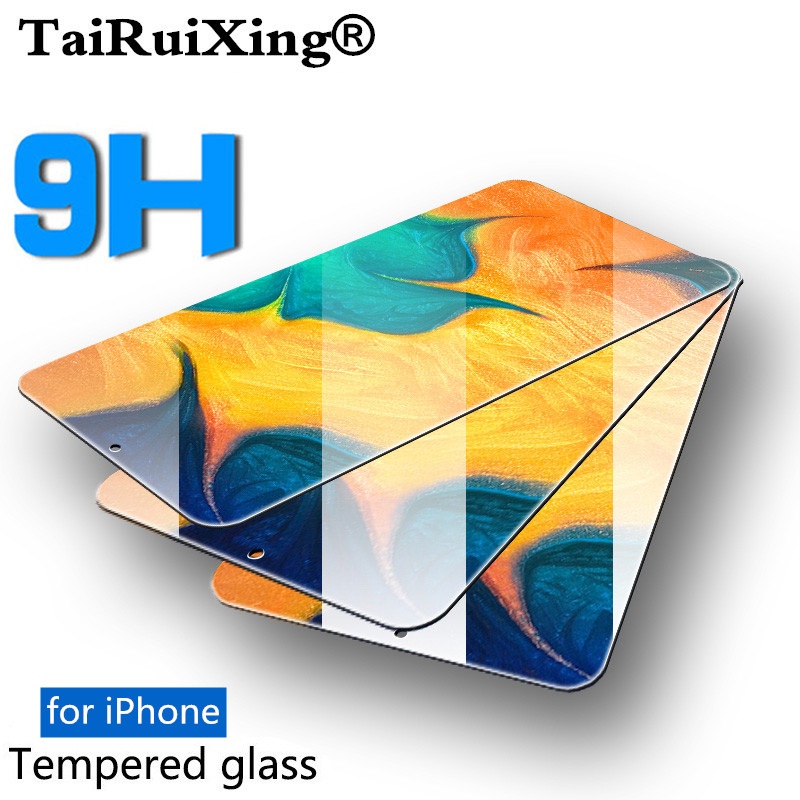 9H Anti-Burst Protective Glass On The For iPhone 11 2019 Screen Protector For iPhone 11 Pro Max 2019 6 6s 7 8 Plus 5S SE glass