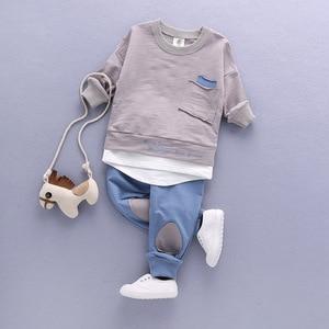 Image 1 - 2020เสื้อผ้าเด็กชุดเด็กชุดเด็กชุดเด็กฤดูใบไม้ร่วงชุดกีฬาชุด1 4Tชายหญิงชุดเด็กชุดเสื้อผ้า