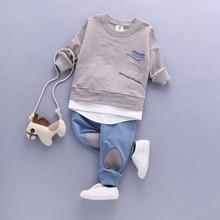 2020 Children Clothing Set Babys Sets Childrens Kids Autumn Boy Outfit Sports Suit Set 1 4T Boys Girls Set Child Suit Clothes