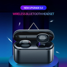 TWS Fingerprint Touch Bluetooth Earphones, HD Stereo Wireless Headphones,Noise Cancelling Gaming Headset
