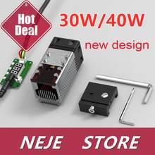 30W/40W Laser Module Kit Laser Hoofd 450nm Ttl Module Voor Neje Laser Graveur Hout Snijgereedschap