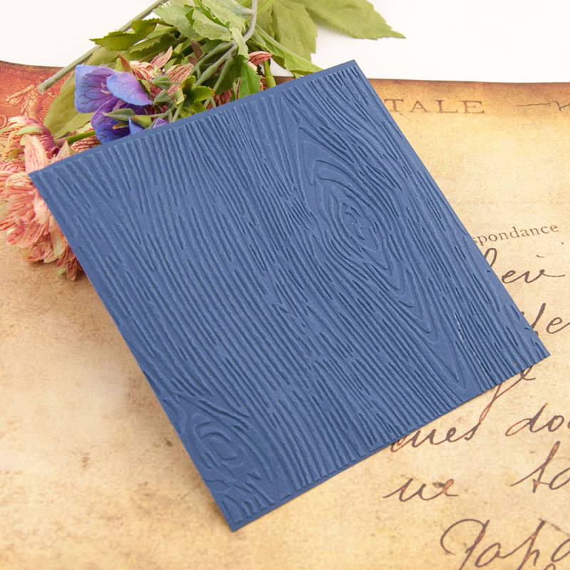 Tree Lines Design Plastic Embossing Folder Template For Scrapbooking Crafft DIY Photo Album Card Holiday Decoration