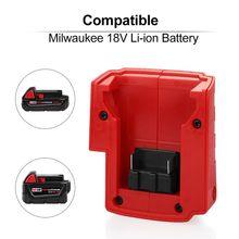 USB Power Charger Adaptor Cellphones Digital Cameras for Milwauke-e M18 PXPE cheap Battery Accessories PXPE4NB902545