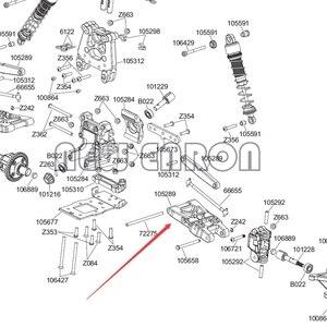 Image 5 - ENRON Brazo de suspensión inferior delantero/trasero para coche de control remoto, HPI MINI SAVAGE FLUX XS GT 2XS SS Ford Raptor, 2 uds., n. ° 105289