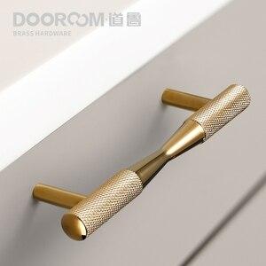 Image 1 - Dooroom poignées de meubles en laiton, noir, or et noir, tiroirs rembourrés exquis, armoire commode, boîte à chaussures, boutons darmoire à tiroirs