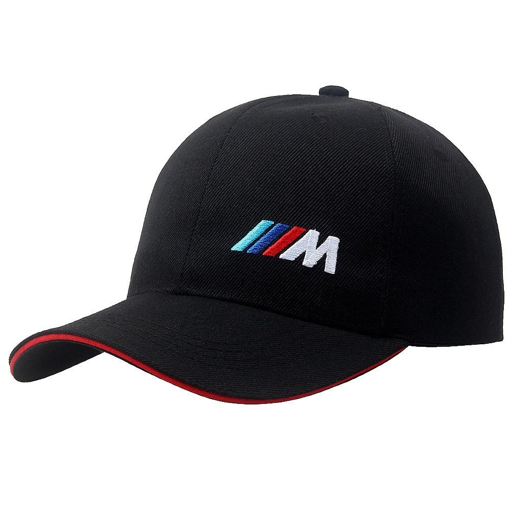 Men Fashion Cotton Car Logo M Performance Baseball Cap Hat for BMW Logo Leisure High Street Personality Men and Women Hats Wild
