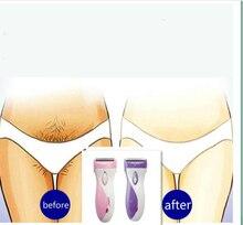 dropshiping female epilator women electric face underarm bikini triangle body arm epilator hair removal razor trimmer depilation цена и фото