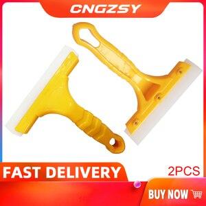 Image 1 - Rascador multifunción para parabrisas de coche, escobilla de limpieza con cuchilla de secado de agua, herramienta de lavado de coche B03, 2 uds.