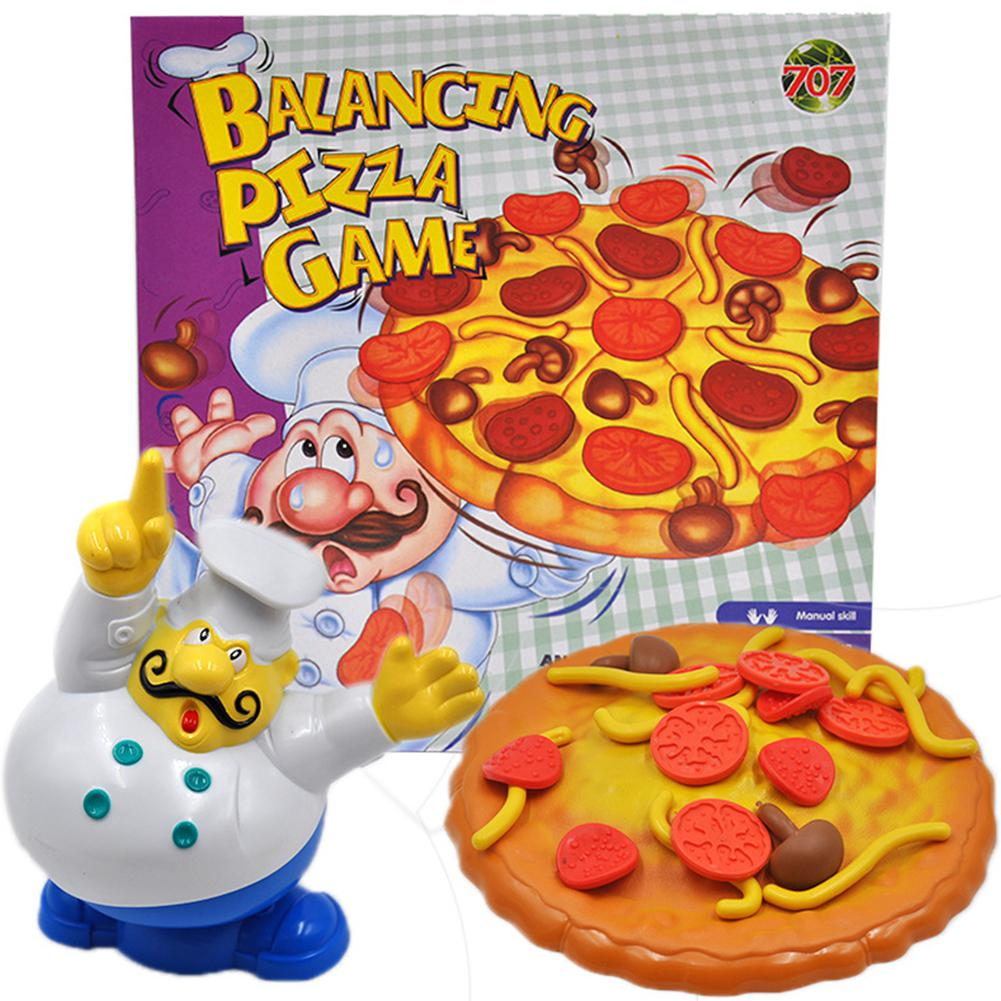 Balance Toy Balance Pizza Game Balance Parent-child Desktop Game Interactive Teaching Game Party Games